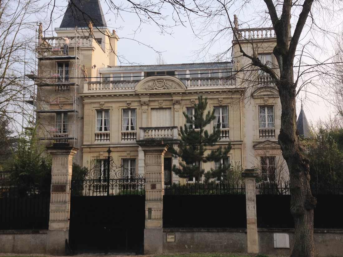 Restauration maison lafitte patrimoine pierre de taille for Restauration maison
